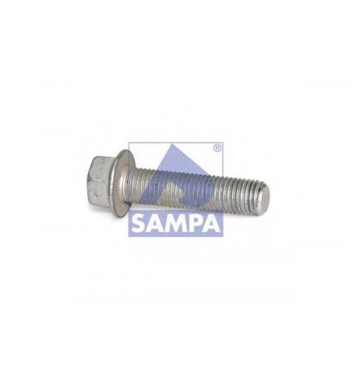 Бoлт крепления реактивной/лучевой тяги M22x1,5/65 (пр-во Sampa)