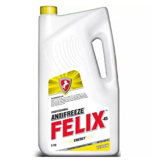 Антифриз желтый Felix Energy 5 кг -40