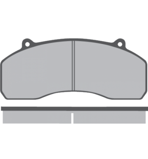 Колодка торм. диск. (компл. на ось) SAF SK9022H (пр-во Winnard)