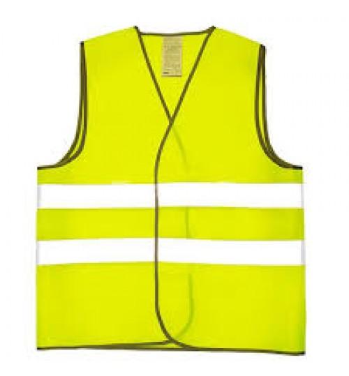 Жилет светоотражающий (оранжевый) желтый XL