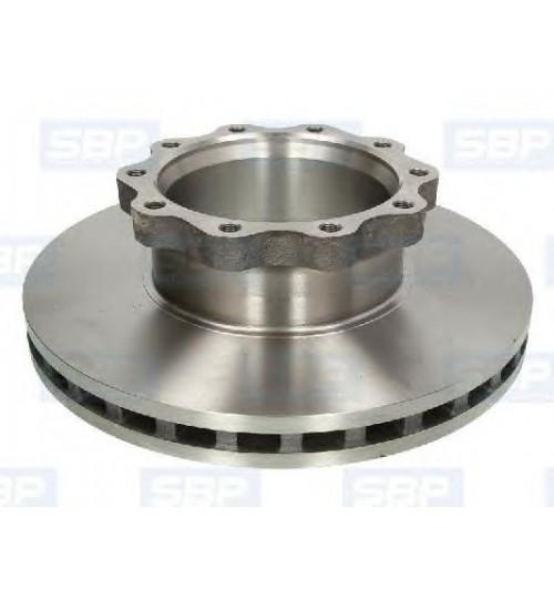 Тормозной диск MAN F2000 (пр-во SBP)