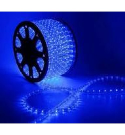Гибкая светодиод. лента 24V (Цена за метр) 5м; 8мм*2,7мм, влагостойкая, синяя (пр-во Китай)