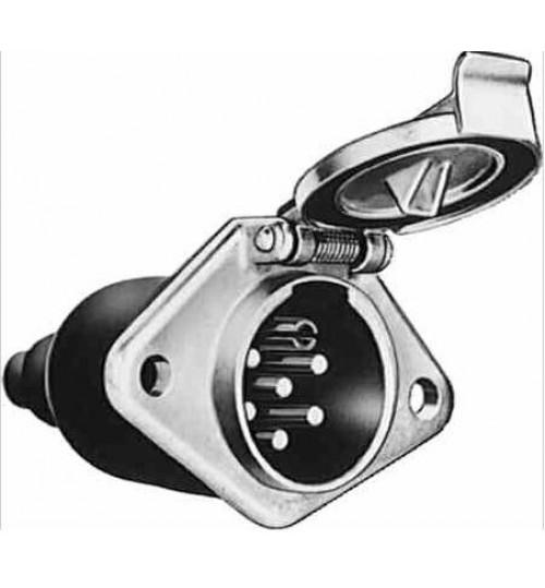 Розетка электрокабеля 7-контактов (type S) (пр-во Sampa)