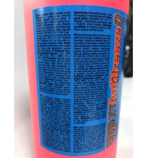 Антифриз красный концентрат -80 XT D 200 L (Чехия) G12