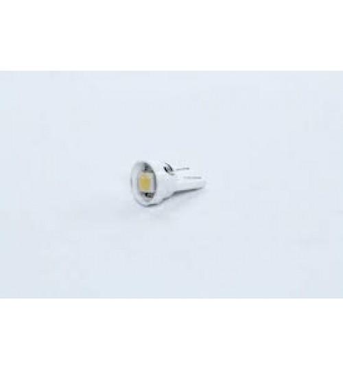 Лампа LED б/ц габарит и панель приборов T10-1 SMD (size 5050) 24V WHITE