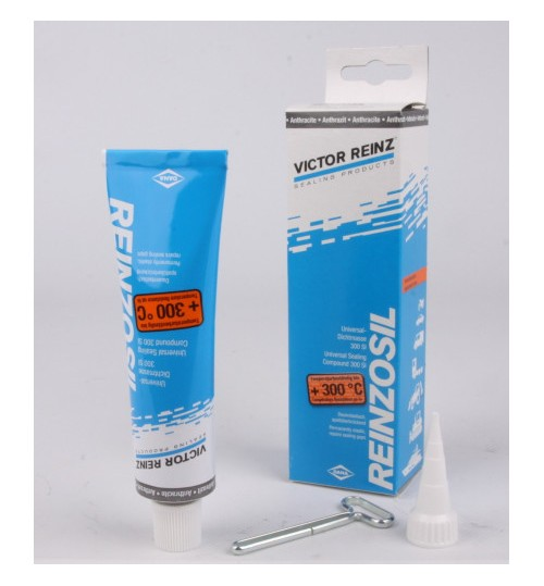Герметик REINZOSIL TUBE 70ML -50/+300 ЧЕРНЫЙ  (пр-во Victor-Reinz)