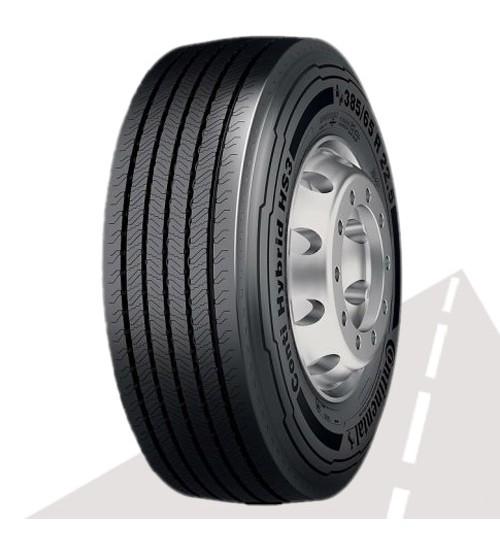 CONTINENTAL 385/55R22.5 CHS3 Conti Hybrid HS3 LRL 20PR M+S 3PNSF (РУЛЬ)
