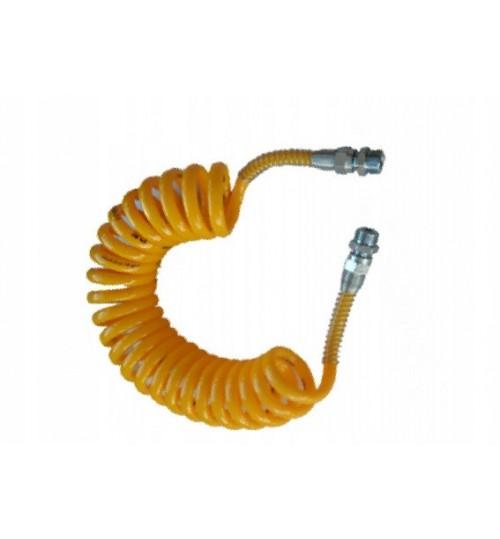Витой шланг воздуха М16х1,5 (желтый) (пр-во Wabco)