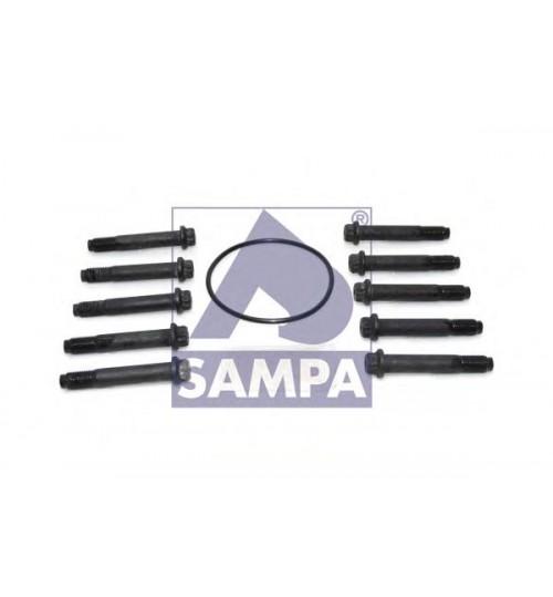 Болт М12*1,5*75 (компл. из 10 шт. На колесо) SAF Integral (пр-во Sampa