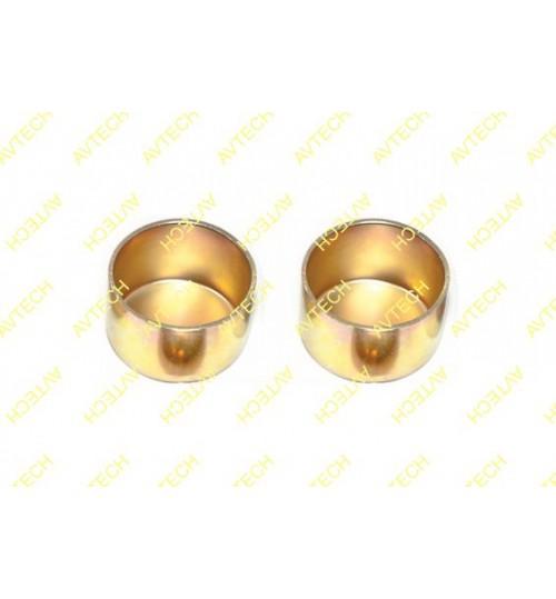 Крышка стальная наружная  диаметр 45 X 28 mm  (Пр-во Avtech)