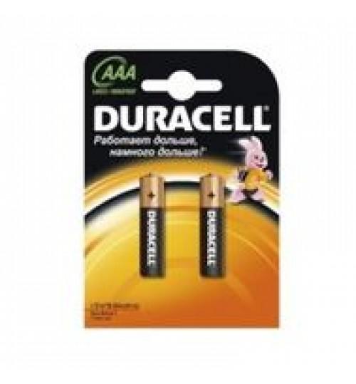 Батарейки Duracell LR3 AAA минипальчиковая (в блистере)
