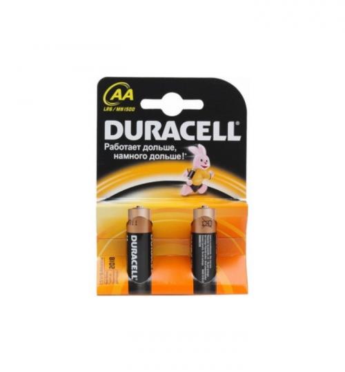 Батарейки Duracell LR6 AA пальчиковая (в блистере)