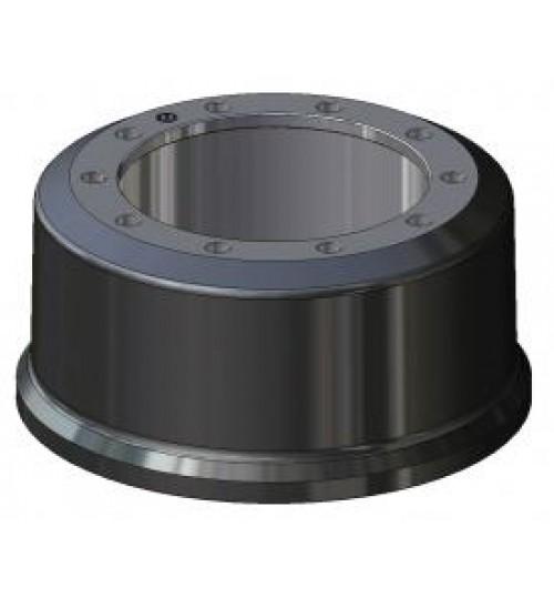 Тормозной барабан 420х180 (вдавленный штифт) BPW KH,SH,SKH,SKM,SAF (пр-во SBP)