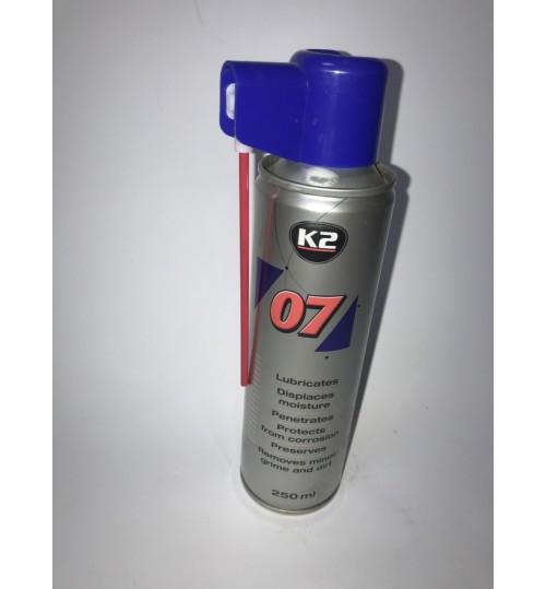 Смазка -007 250 мл.(аналог WD-40) K2