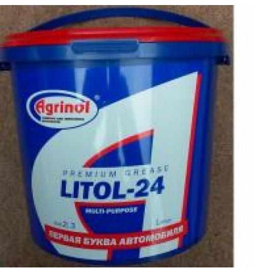 Литол-24 4,5 кг. Agrinol (карта 4102927340)