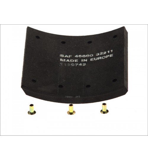 Комплект тормозных накладок SAF KERZT,KRS,KRZ,KRZP (пр-во ROULUNDS)