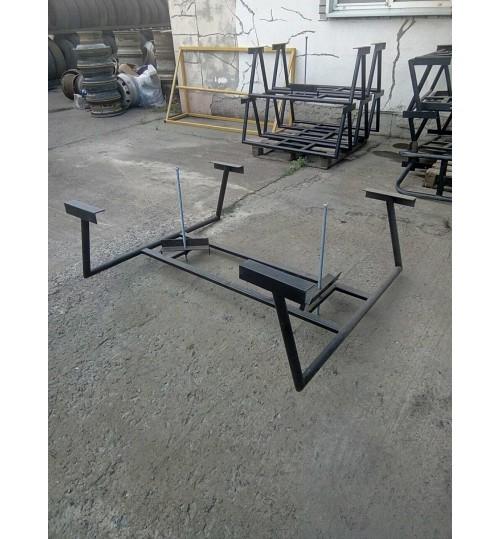 Кронштейн крепления запасного колеса (корзина на 2 колеса)